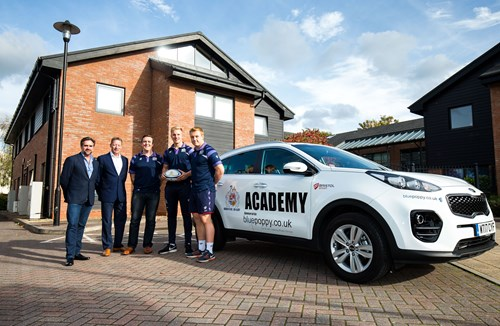 Blue Poppy team up with Bristol Rugby Academy
