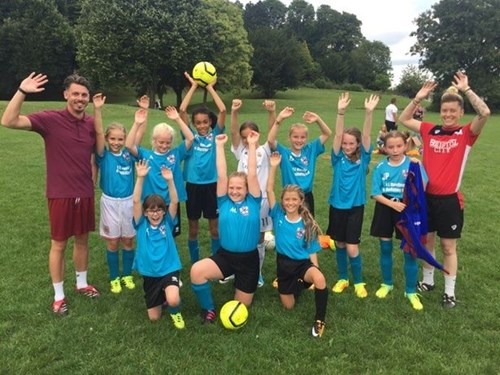 Ashton Girls become the latest addition to the City Women Sister Club Programme