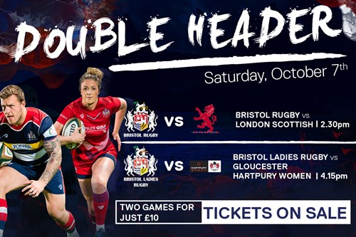 Two games for £10 at Ashton Gate on Saturday