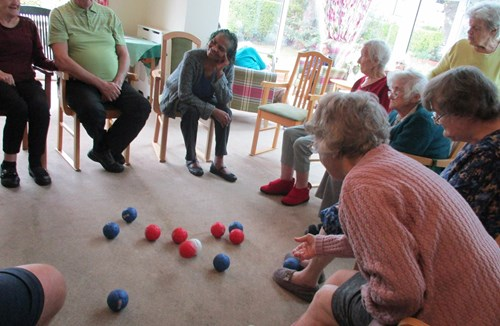 AbleCare Homes – Lansdown Club Members engage in a community project