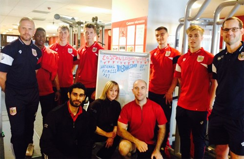 Under-23s partake in national fitness day