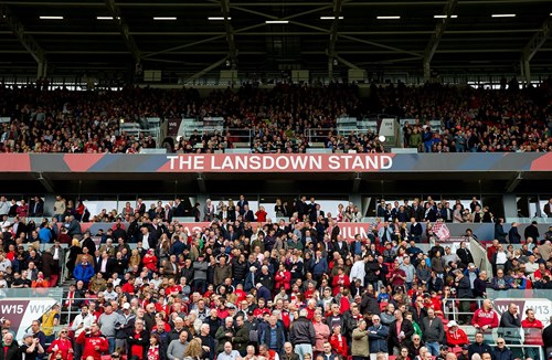 Lansdown upper tier open for Leeds game