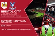 Palace cup hospitality available
