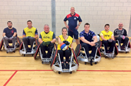 Video: Jeffries and O'Connell join Bristol Bears for wheelchair rugby session