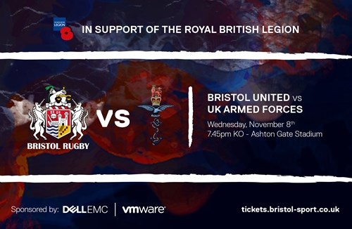 Bristol United to face UK Armed Forces in charity fixture
