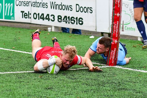 Report: Cardiff Blues Premiership Select 7-31 Bristol United