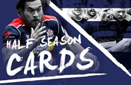 Half season cards on sale from Monday, October 23rd