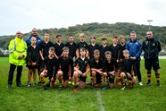 Searle and Faletau take Clevedon School training session