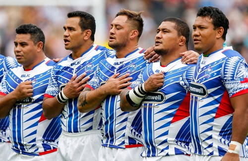 Quartet start for Samoa at Twickenham