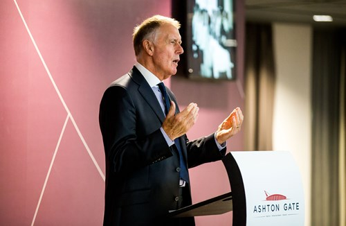 """Video: """"Attitude reflects everything in life"""" - Sir Geoff Hurst MBE"""