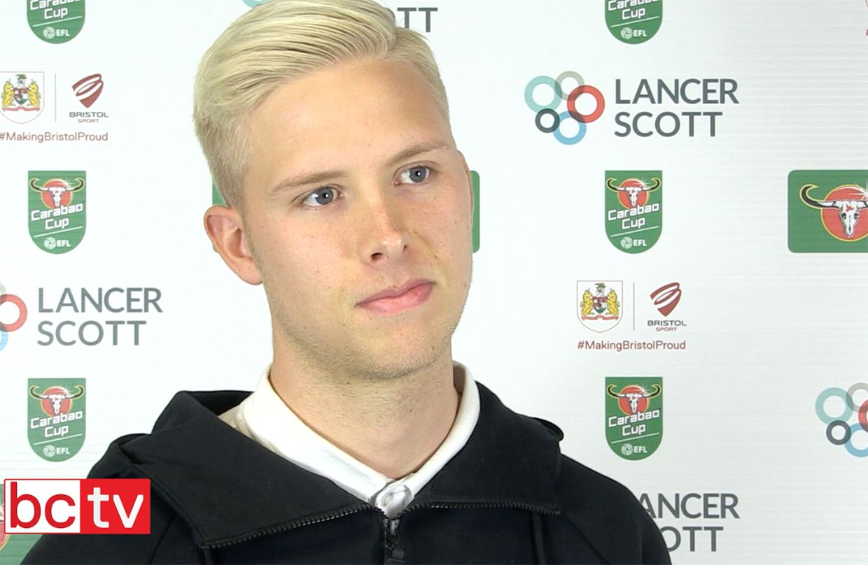 Video: Hordur Magnusson Pre-Crystal Palace home thumbnail