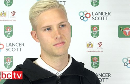 Video: Hordur Magnusson Pre-Crystal Palace home