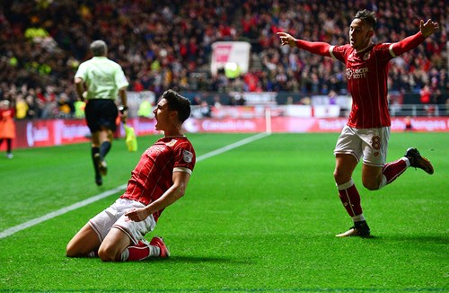 Gallery: Bristol City 4-1 Crystal Palace