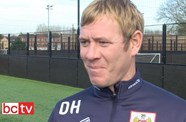Video: Dean Holden Pre-Sunderland away