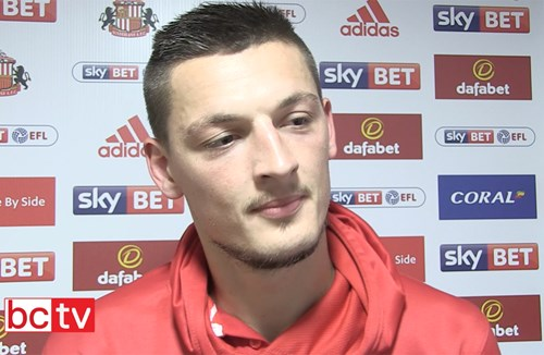 Video: Milan Djuric Post-Sunderland away