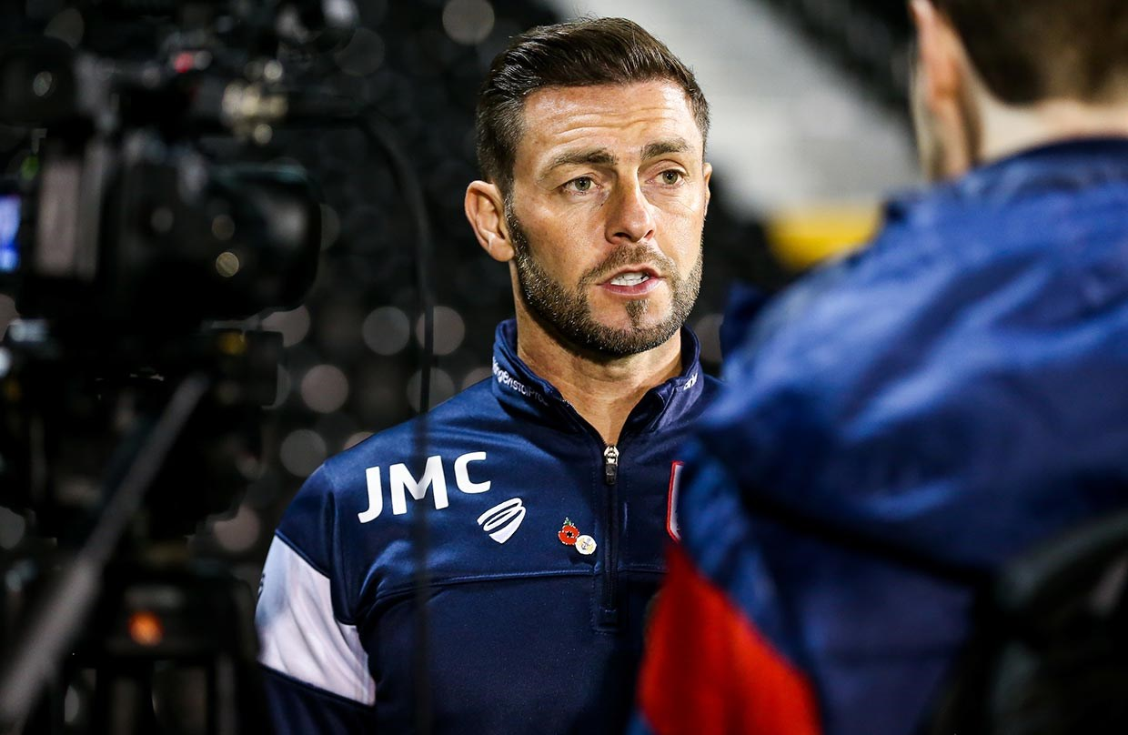 Audio: Jamie McAllister Post Fulham away press conference thumbnail