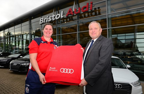 Video: Bristol Audi extends sponsorship to Bristol Ladies Rugby