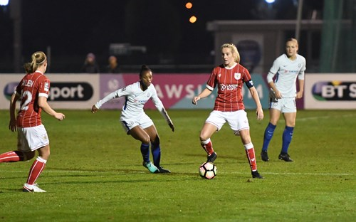 Report: Bristol City Women 1-2 Chelsea Ladies