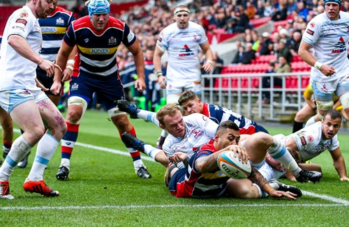 Report: Bristol Rugby 55-10 Rotherham Titans