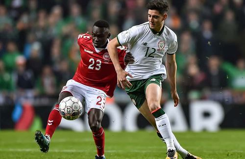 UEFA Nations League action for City trio