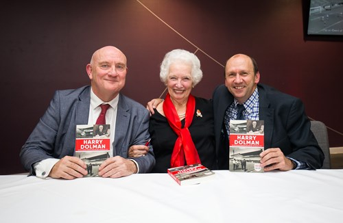 Bumper attendance for Harry Dolman book launch