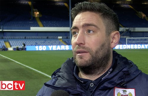 Video: Lee Johnson Post-Sheffield Wednesday away