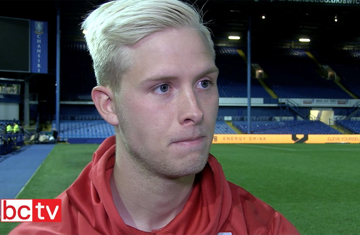 Video: Hordur Magnusson Post-Sheffield Wednesday away thumbnail