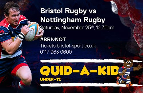 Kid For A Quid at Ashton Gate on Saturday