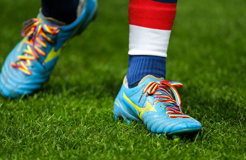 Bristol Rugby supporting Rainbow Laces campaign