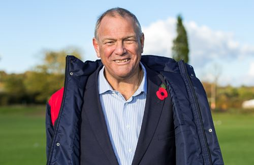 Chairman Chris Booy to be awarded honorary degree