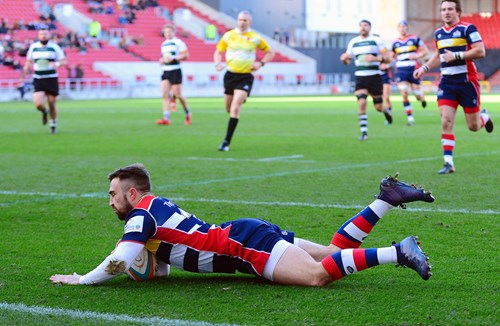Report: Bristol Rugby 50-21 Nottingham