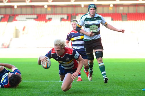 Video: Two-try Thomas talks to Bristol Rugby TV