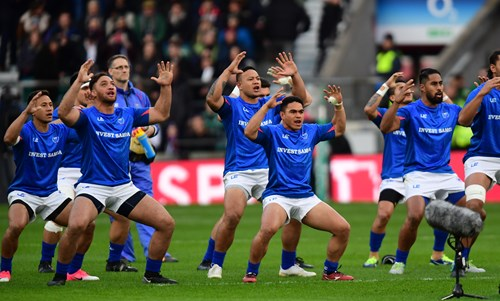 Gallery: Samoan quartet impress in Twickenham defeat