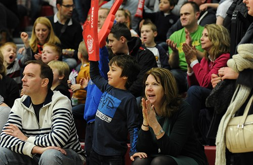 Bristol Crowds Make Basketball A Sellout