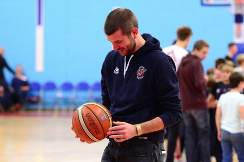 Bristol Flyers free throw challenge - Jon Lansdown