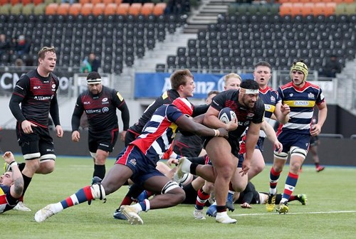 Video: Saracens Storm 49-24 Bristol United