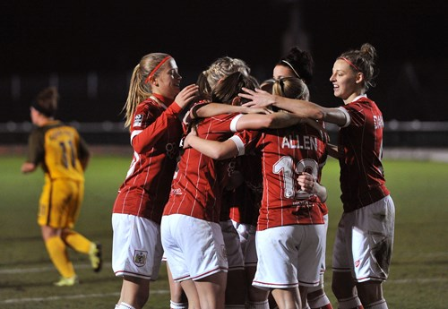 Report: Bristol City Women 3-0 Brighton and Hove Albion Ladies