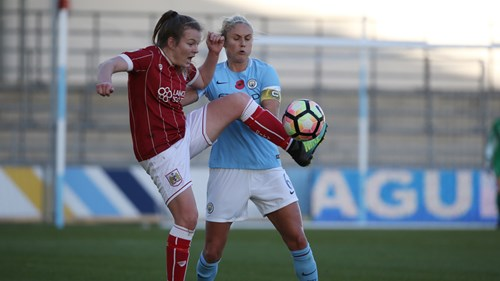 City Women to face Manchester City in the Continental Tyres Cup quarter-finals