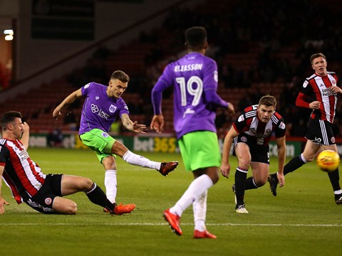 Goals: Sheffield United 1-2 Bristol City