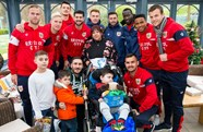 City enjoy festive visit to CHSW