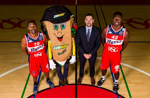 Bristol Flyers form elite partnership with SUBWAY Bristol and West