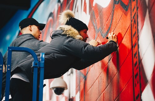 Names added to Upfest mural