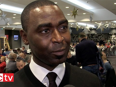 Video: Andrew Cole video exclusive