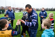 Gallery: Pat Lam coaches at Community Foundation Christmas Camp