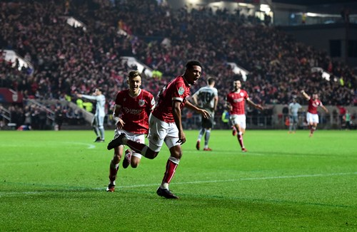 Gallery: Bristol City 2-1 Manchester United