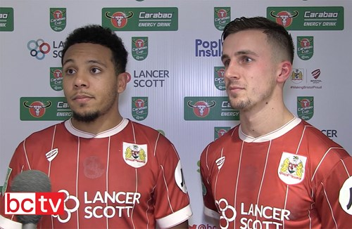 Video: Korey Smith and Joe Bryan Post-Manchester United home
