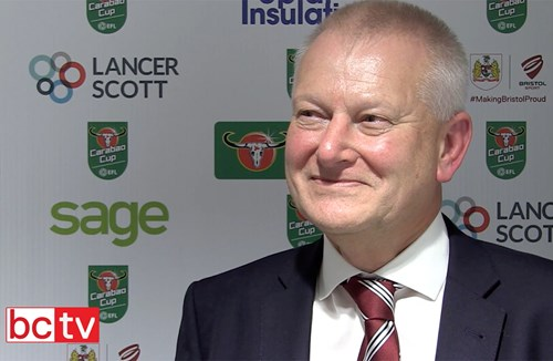 Video: Steve Lansdown Post-Manchester United home