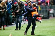 An unforgettable moment for City Academy ballboy