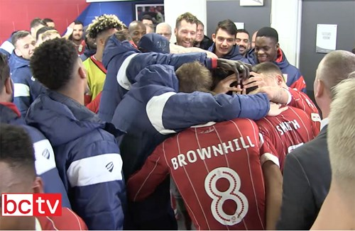 Tunnel Cam: Bristol City v Manchester United