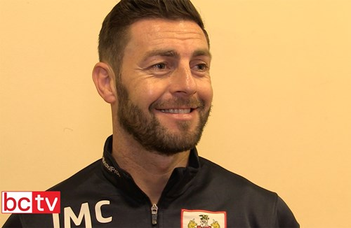 Video: Jamie McAllister Pre-QPR away